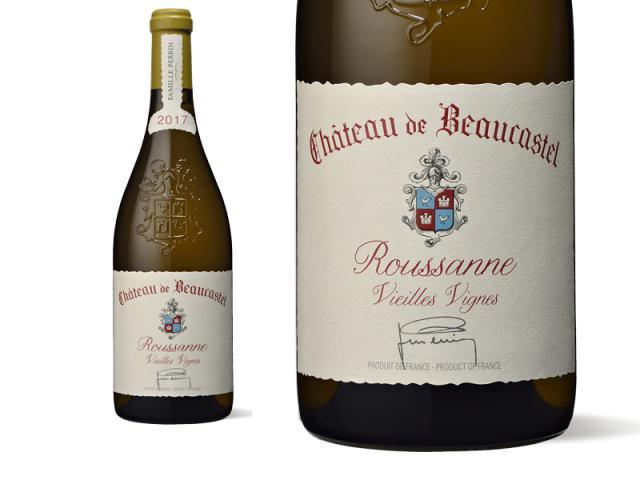Château de Beaucastel Châteauneuf-du-Pape Blanc Roussanne Vieilles Vignes 2017
