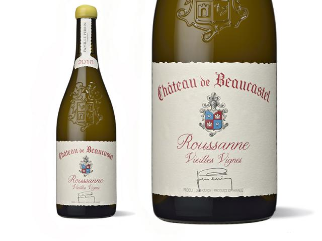 Château de Beaucastel Châteauneuf-du-Pape Blanc Roussanne Vieilles Vignes 2018