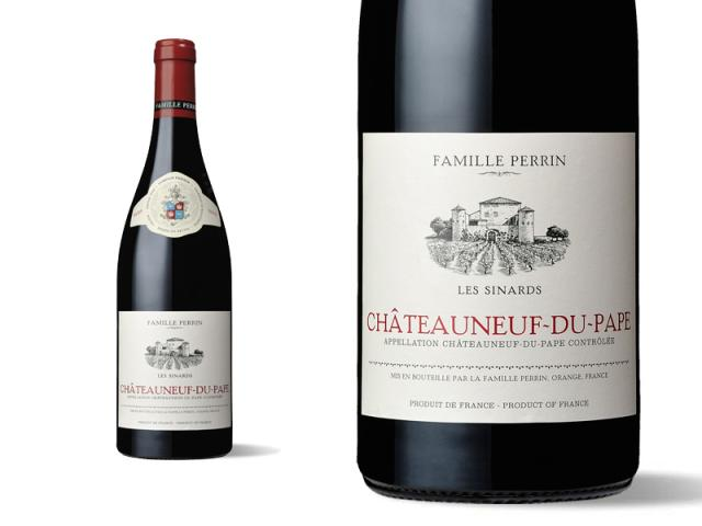Famille Perrin Châteauneuf du Pape - Les Sinards 2015