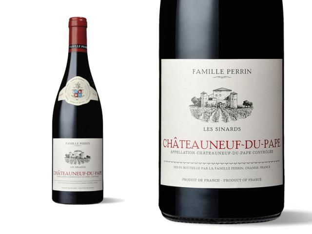 Famille Perrin Châteauneuf-du-Pape Rouge - Les Sinards 2017 Macro