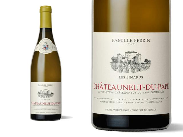 Famille Perrin Châteauneuf du Pape Blanc - Les Sinards - 2015