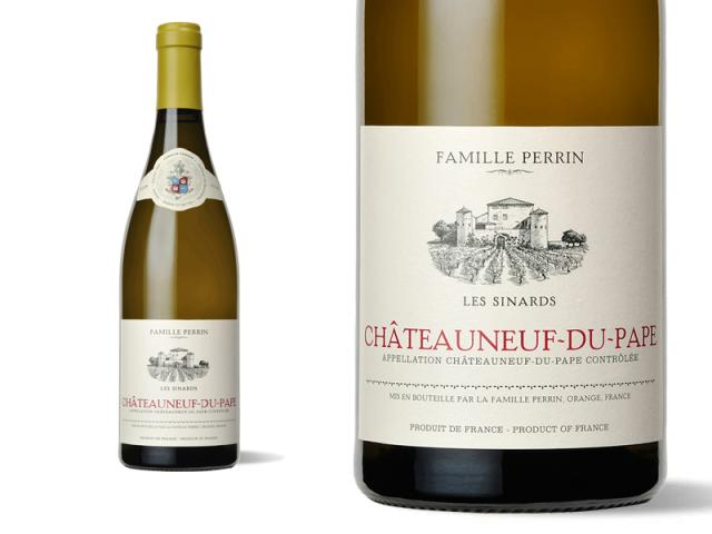 Famille Perrin Châteauneuf du Pape Blanc - Les Sinards - 2016