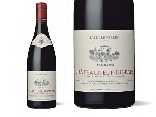 Famille Perrin Châteauneuf-du-Pape Rouge - Les Sinards  Macro - 2019