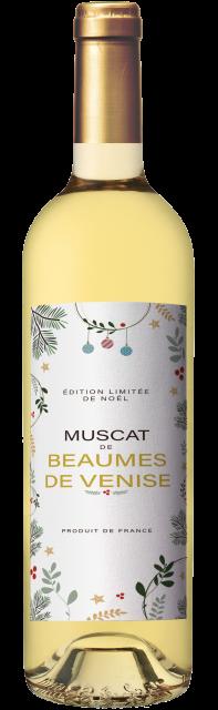 Édition limitée de Noël , AOC Muscat de Beaumes-de-Venise, Blanc Moelleux