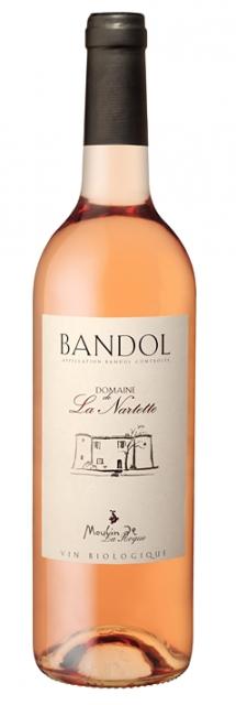 Domaine de la Nartette - BIO, AOC Bandol, Rosé, 2020