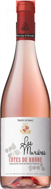 Les Murières, AOC Côtes du Rhône, Rosé, 2020
