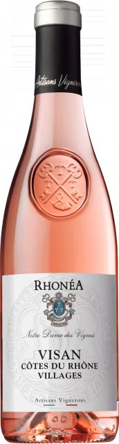 Notre Dame des Vignes, AOC Côtes du Rhône Villages Visan, Rosé, 2020