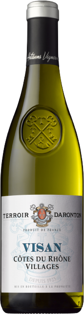 Terroir Daronton, AOC Côtes du Rhône Villages Visan, Blanc, 2020