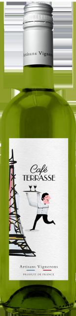 Café Terrasse Blanc, IGP Méditerranée, Blanc, 2019