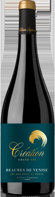 Création Grand Vin, AOC Beaumes de Venise, Rouge, 2018