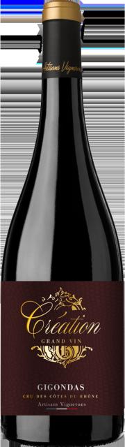 Création Grand Vin, AOC Gigondas, Rouge, 2017