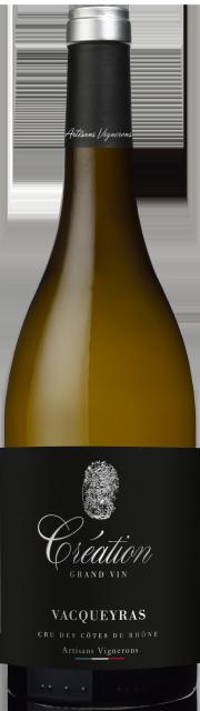 Création Grand Vin, AOC Vacqueyras, Blanc, 2019