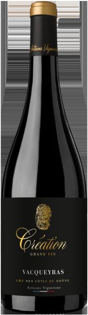 BT   Création Grand Vin AOC Vacqueyras Rouge