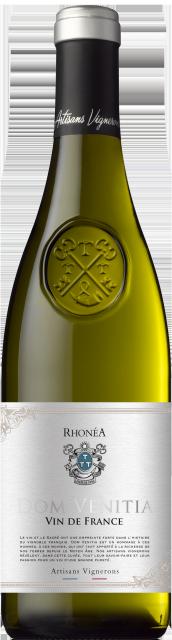 Gamme Rhonéa, Dom Vénitia, Vin de France, Blanc