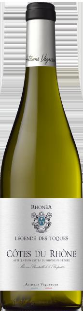 Légende des Toques, AOC Côtes du Rhône, Blanc, 2019