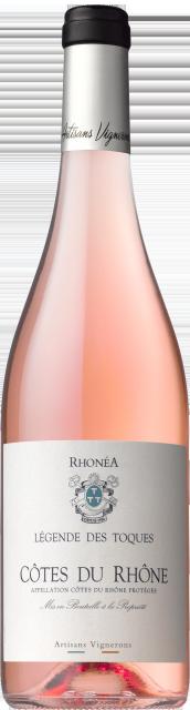 BT   Legende Des Toques AOC Côtes du Rhône Rose