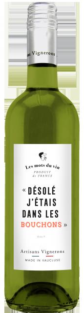 Les Mots du Vin Blanc, IGP Vaucluse, Blanc, 2018