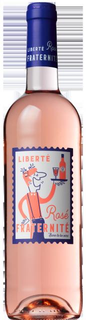 Liberté - Rosé - Fraternité, Vin de France, Rosé, 2018