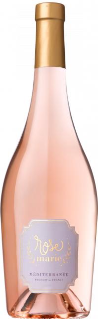 Rosemarie - Rosé, IGP Méditerranée, Rosé, 2018