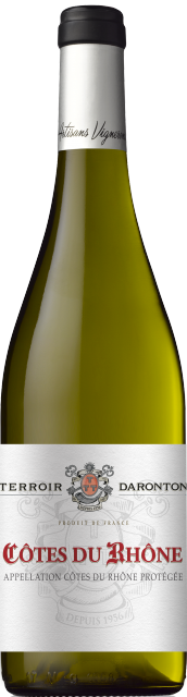 Terroir Daronton, AOC Côtes du Rhône, Blanc, 2018