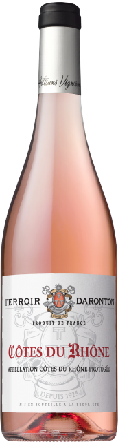 Terroir Daronton, AOC Côtes du Rhône, Rosé, 2019