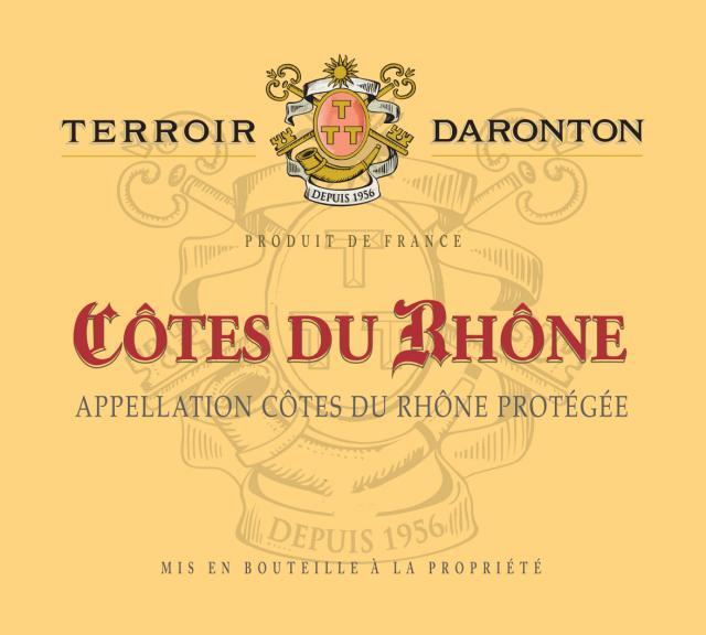 BT   Terroir Daronton Cotes du Rhone Rouge