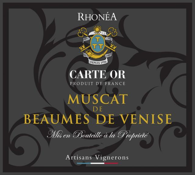 ET   Carte Or Muscat de Beaumes de Venise