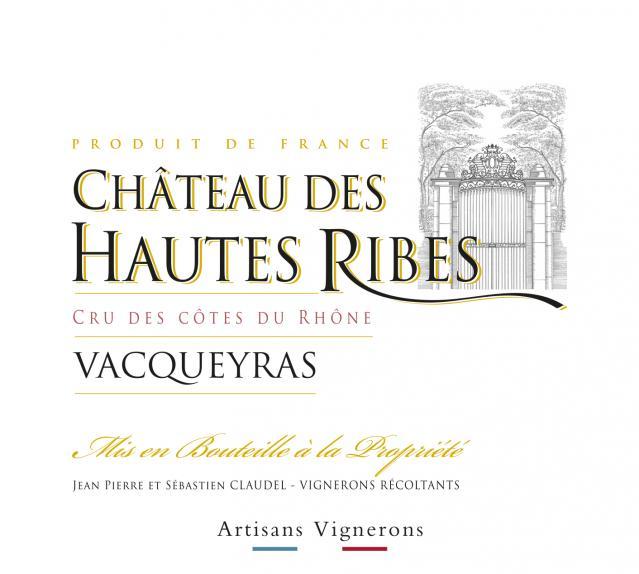 ET   Château les Hautes Ribes   Vacqueyras
