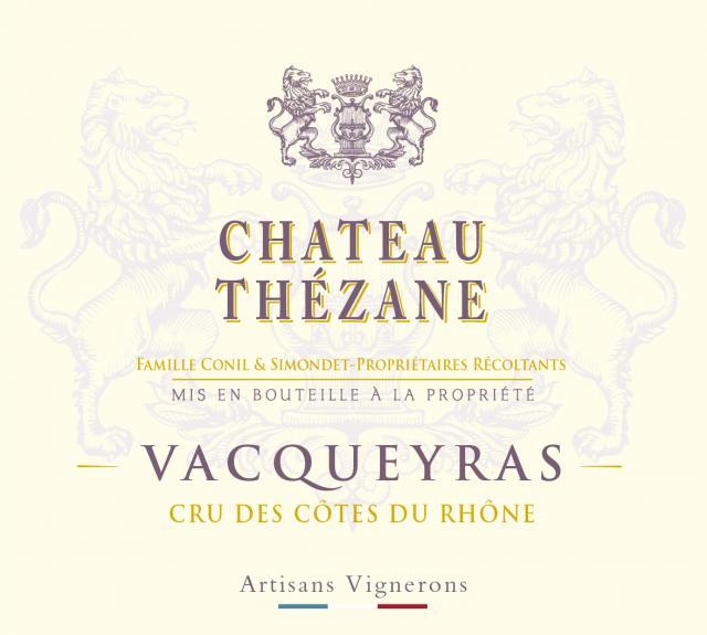 ET   Château Thézane AOP Vacqueyras Rouge