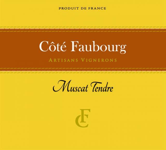 ET   Côté Faubourg   IGP Vaucluse   Muscat Tendre