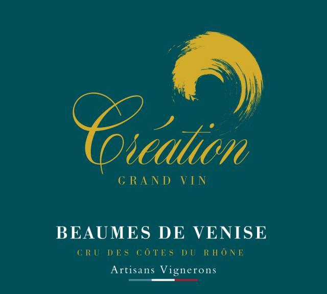 ET   Création Grand Vin AOC Beaumes de Venise Rouge