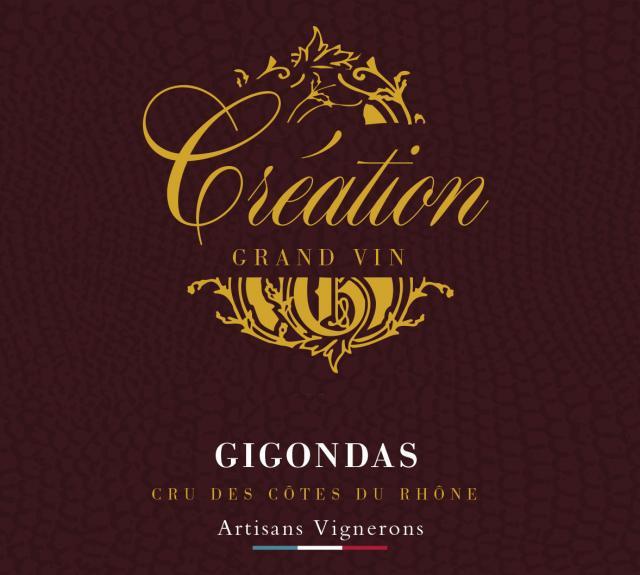 ET   Création Grand VinAOC Gigondas Rouge