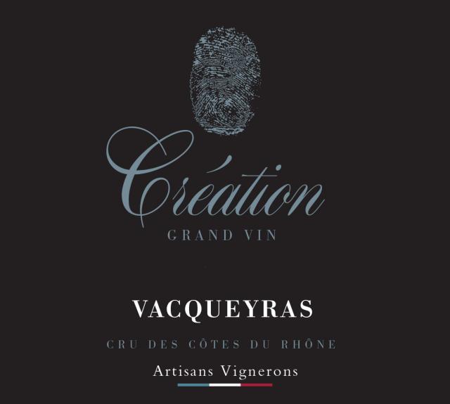 ET   Création Grand VinAOC Vacqueyras Blanc