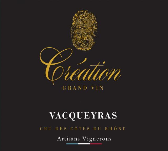 ET   Création Grand VinAOC Vacqueyras Rouge