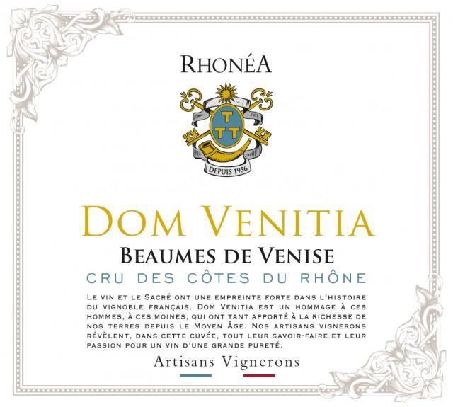 ET   Dom Venitia AOC Beaumes de Venise