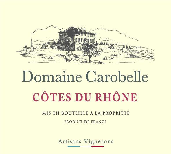 ET   Domaine Carobelle AOP Cotes du Rhone Rouge