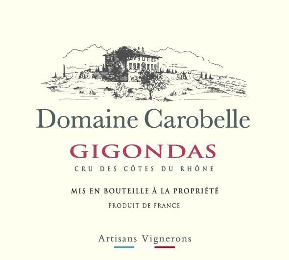 ET   Domaine Carobelle AOP Gigondas Rouge