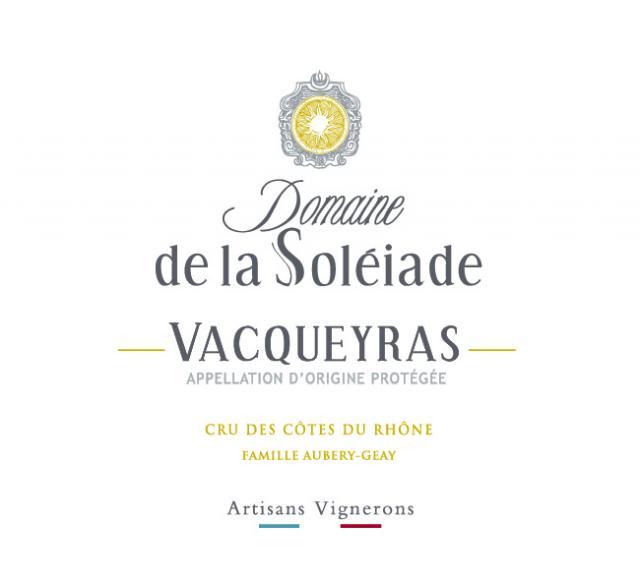 ET   Domaine de la Soleiade   VAC   Rouge   75cl NM