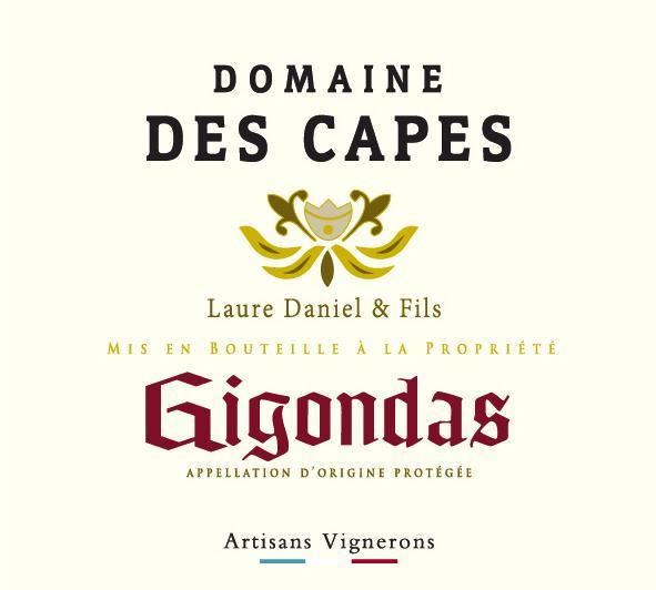 ET   Domaine des Capes AOC Gigondas Rouge