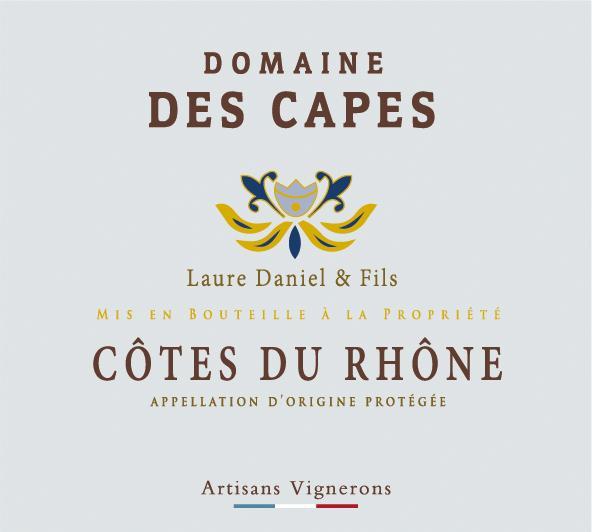 ET   Domaine des Capes AOP Cotes Du Rhône Rouge