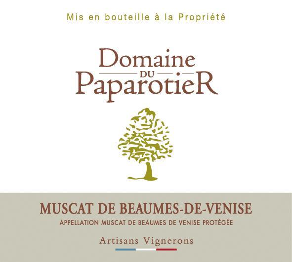 ET   Domaine du Paparotier AOP Muscat de Beaumes de Venise Blanc