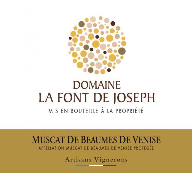 ET   Domaine La Font de Joseph AOP Muscat de Beaumes de Venise Blanc