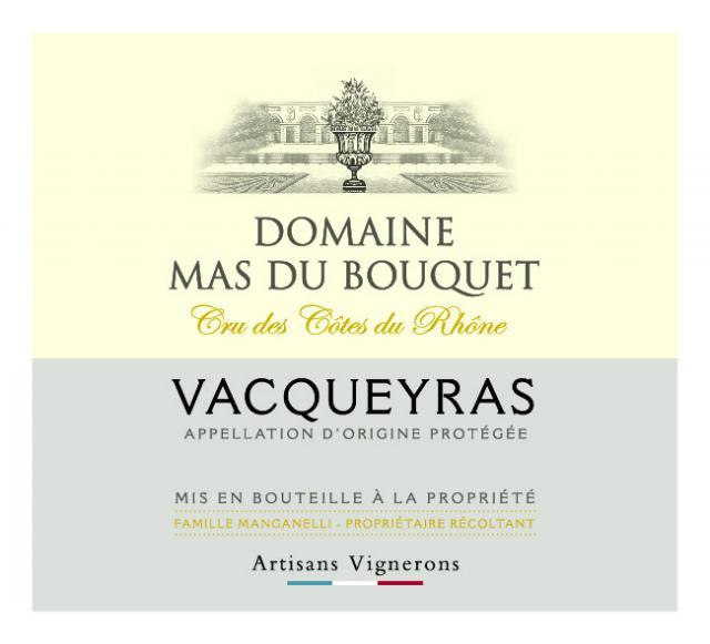 ET   Domaine Mas du Bouquet AOC Vacqueyras Rouge