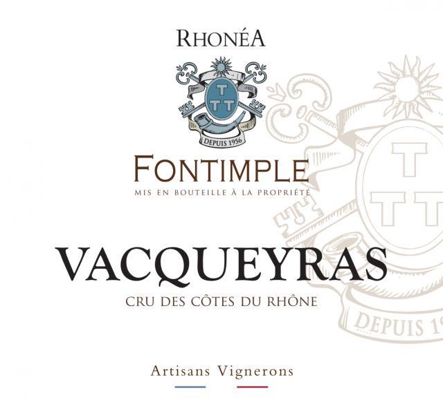 ET   Fontimple AOC Vacqueyras Rosé