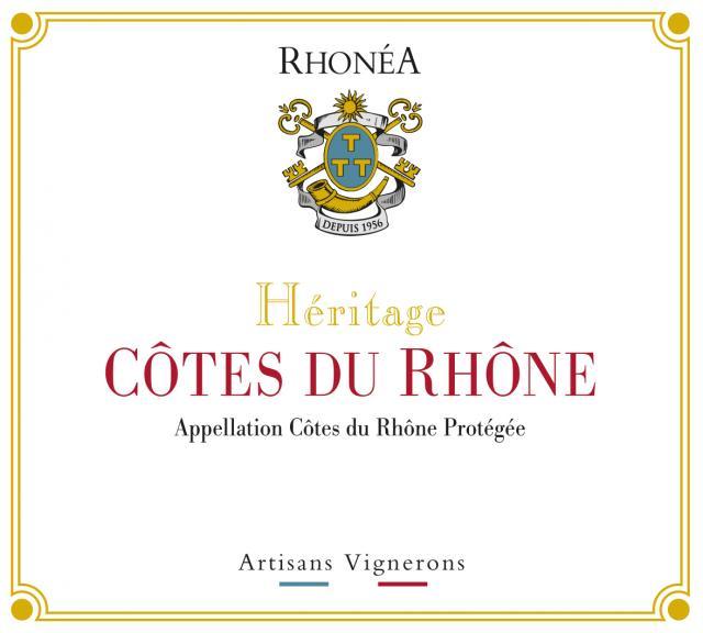 ET   Heritage AOC Cotes Du Rhone Rouge