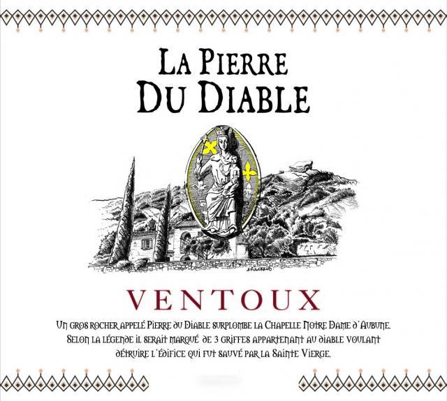 ET   La Pierre du Diable AOC Ventoux