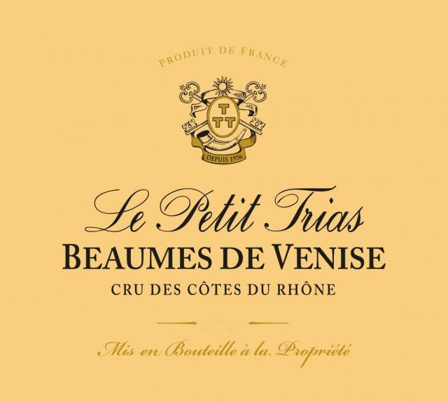 ET   Le Petit Trias AOC Beaumes de Venise