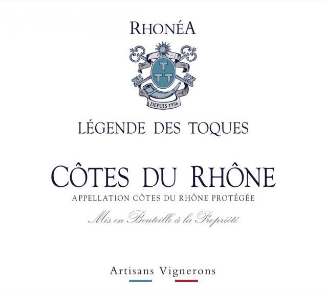 ET   Legende Des Toques AOC Côtes du Rhône