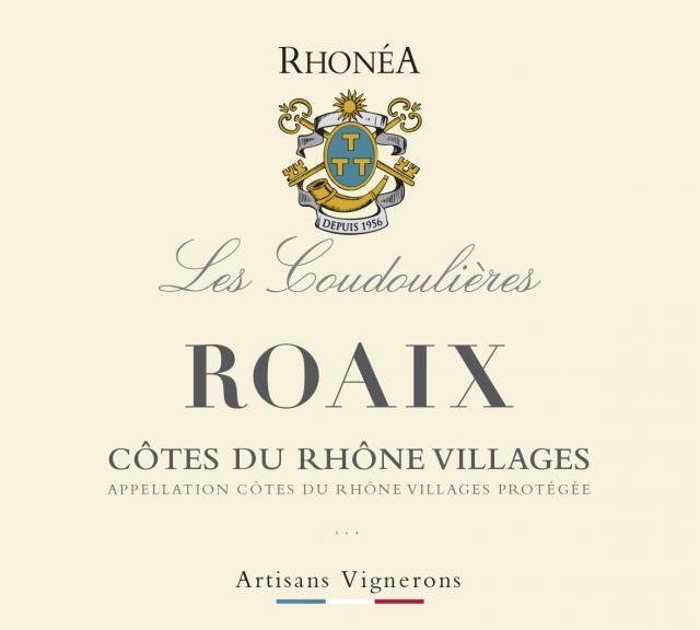 ET   Les Coudoulieres AOC Côtes du Rhône Village ROAIX