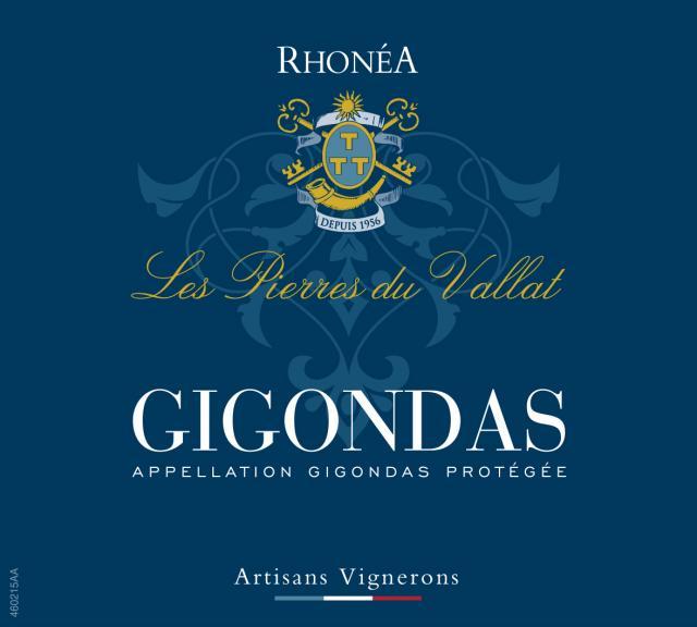 ET   Les Pierres du Vallat AOC Gigondas